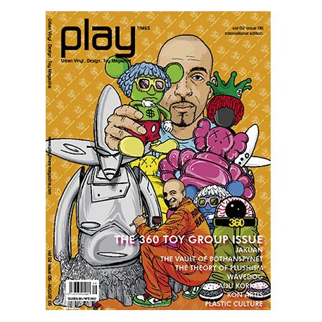 Figurine Play Times volume 02 issue 06 Play Imaginative Boutique Geneve Suisse