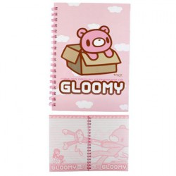 Gloomy Notebook by Mori Chack