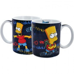 Figurine Simpsons Tasse Who Wants To Know United Labels Boutique Geneve Suisse