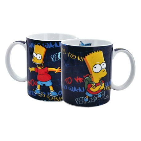 Figur Simpsons Mug Who Wants To Know United Labels Geneva Store Switzerland