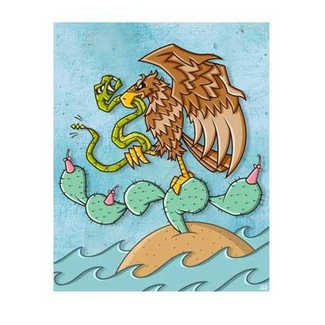 Figur Print : Joe Ledbetter : Mexico Geneva Store Switzerland