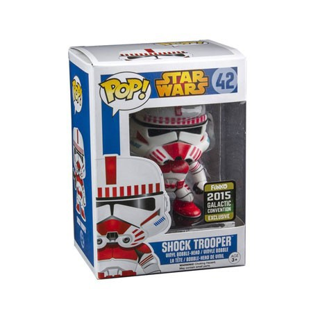 Figurine Pop Galactic Convention 2015 Star Wars Shock Trooper Edition Limitée Funko Boutique Geneve Suisse