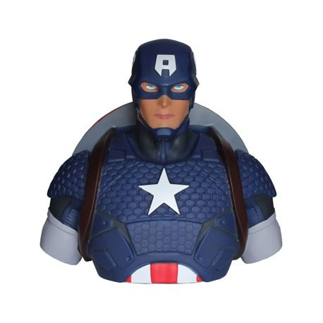 Figur Captain America Bust Bank Preorder Geneva
