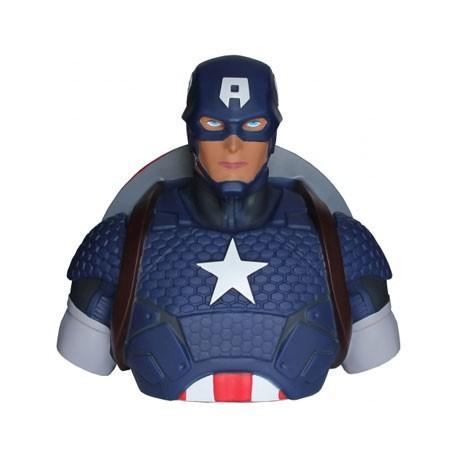 Figur Captain America Bust Bank Geneva Store Switzerland