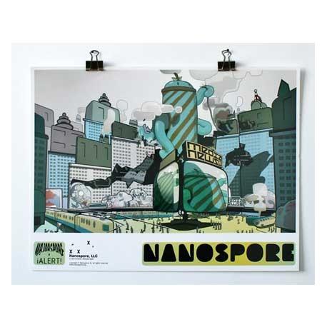 Figurine Print : Majorspore Rampage Alert Boutique Geneve Suisse