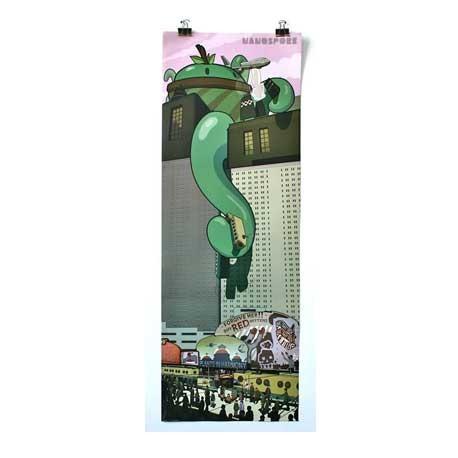 Figurine Print : Majorspore Rampage Vertical Boutique Geneve Suisse