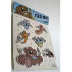 Feed Me ! aimants (6 pcs) by Joe Ledbetter