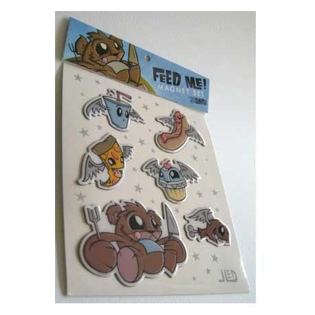 Figur Feed Me ! aimants (6 pcs) by Joe Ledbetter Accessories Geneva
