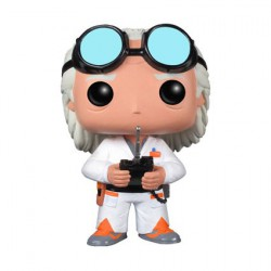 Figur Pop Movies Back to the Future Doc Brown (Vaulted) Funko Geneva Store Switzerland