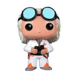 Figurine Pop Film Retour vers le futur Doc Brown (Vaulted) Funko Figurines Pop! Geneve