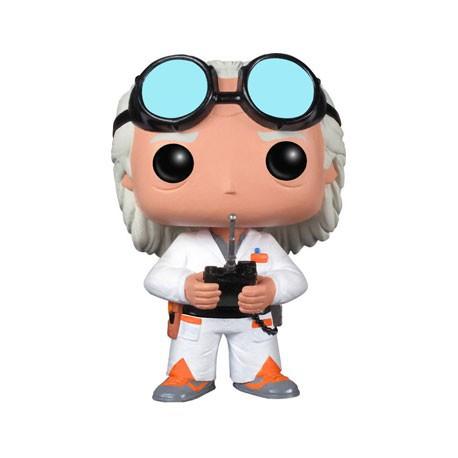 Figur Pop Movies Back to the Future Dr Emmett Brown (Vaulted) Funko Geneva Store Switzerland