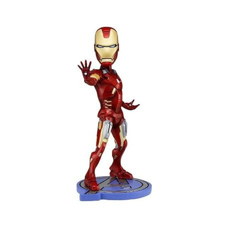 Figurine Marvel The Avengers Iron Man Head Knocker Neca Boutique Geneve Suisse