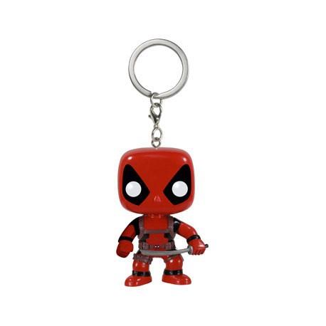 Figurine Pop Pocket Porte Clés Marvel Deadpool Funko Boutique Geneve Suisse