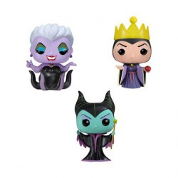 Figurine Pop Pocket Tins Disney Maleficent, Ursula, Evil Queen (3 pcs) Funko Boutique Geneve Suisse