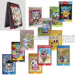 Cartes Postales Snorty & friends par Steven Lee