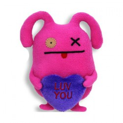 Figurine Peluche Uglydoll Ox Luv You (18 cm) Pretty Ugly Peluches Geneve