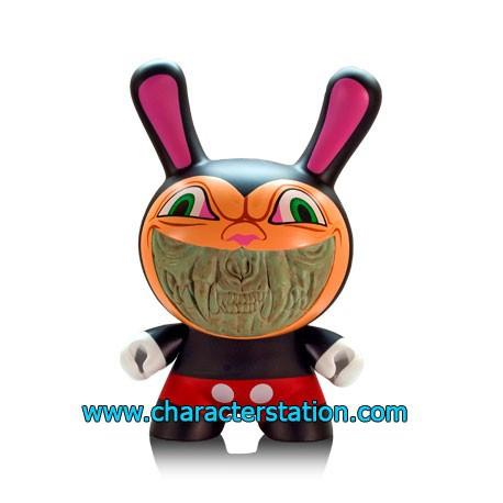 Figurine Kidrobot Dunny Grin par Ron English (20 cm) Kidrobot Boutique Geneve Suisse