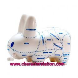 Figurine Labbit Choice Cuts Kidrobot par Frank Kozik Kidrobot Boutique Geneve Suisse