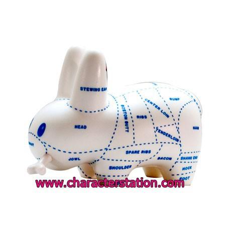Figur Kidrobot Labbit Choice Cuts by Frank Kozik Kidrobot Geneva Store Switzerland