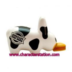 Figurine Labbit Mad Cow Kidrobot par Frank Kozik Kidrobot Boutique Geneve Suisse