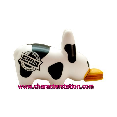Figur Kidrobot Labbit Mad Cow by Frank Kozik Kidrobot Geneva Store Switzerland