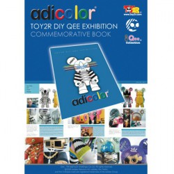 Figurine Adicolor Toy2R Custom Exhibition Toy2R Boutique Geneve Suisse