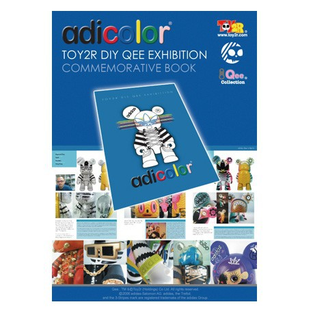 Figur Adicolor Toy2R Custom Exhibition Toy2R Geneva Store Switzerland