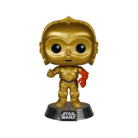 Figur Pop Star Wars Episode VII - The Force Awakens C-3PO Funko Geneva Store Switzerland