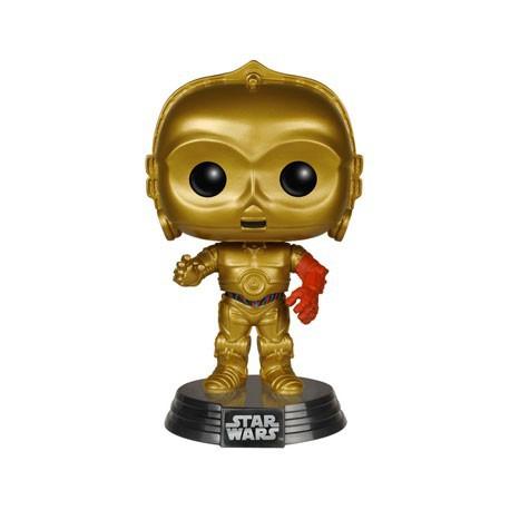 Figur Pop Star Wars Episode VII - The Force Awakens C-3PO Funko Preorder Geneva
