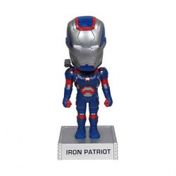 Iron Man 3 Iron Patriot Wacky Wobbler Bobble Head