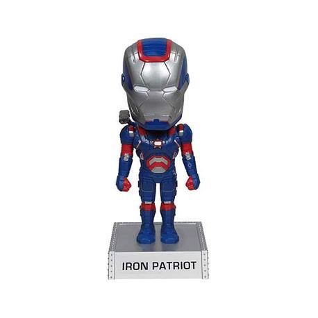 Figurine Iron Man 3 Iron Patriot Wacky Wobbler Bobble Head Funko Boutique Geneve Suisse