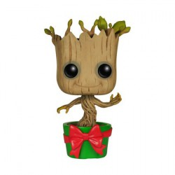 Figurine Pop Marvel Les Gardiens de la Galaxie Holiday Dancing Groot (Rare) Funko Boutique Geneve Suisse