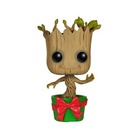 Figur Pop Marvel Guardians of the Galaxy Holiday Dancing Groot (Vaulted) Funko Geneva Store Switzerland
