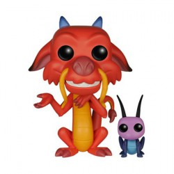 Figurine Pop Disney Mulan Mushu et Cricket (Rare) Funko Boutique Geneve Suisse