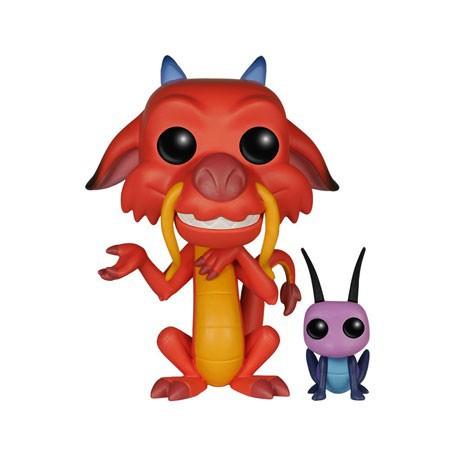 Figurine Pop Disney Mulan Mushu et Cricket (Rare) Funko Boutique Geneve Suisse