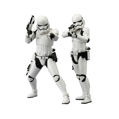 Figur Star Wars The Force Awakens First Order Stormtrooper ARTFX+ (2 pcs) Kotobukiya Geneva Store Switzerland