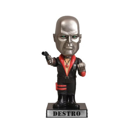 Figurine G.I. Joe Destro Wacky Wobbler Funko Boutique Geneve Suisse