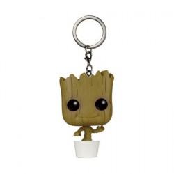 Figurine Pop Pocket Porte-clés Guardians of the Galaxy Dancing Groot Funko Figurines Pop! Geneve