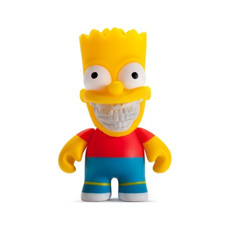 Figur The Simpsons Bart Grin by Ron English Kidrobot Geneva Store Switzerland