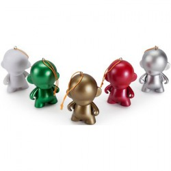 Figur Micro Munny Ornament Pack (5 pieces) Kidrobot Geneva Store Switzerland