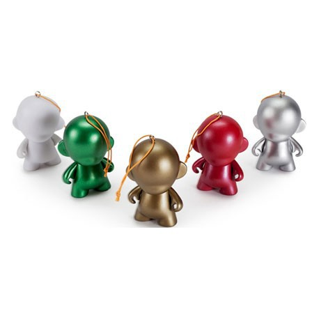 Figur Micro Munny Ornament Pack (5 pieces) Kidrobot Little Toys Geneva