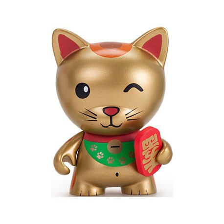 Figur Tricky Cats Lucky Tricky Chase Rare by Kidrobot Kidrobot Designer Toys Geneva