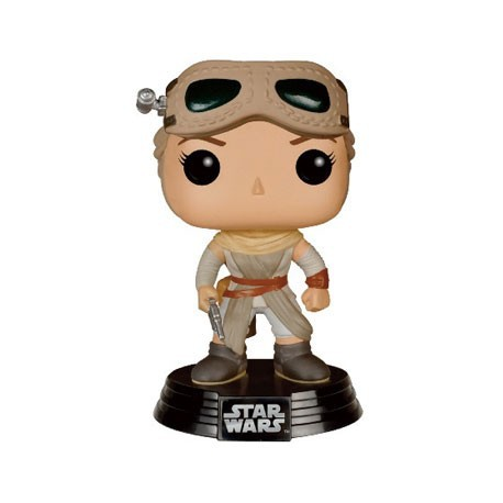 Figur Pop Star Wars Episode VII - The Force Awakens Rey with Goggles Funko Funko Pop! Geneva