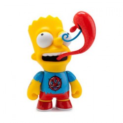 Figurine Les Simpsons Bart par Kenny Scharf Kidrobot Boutique Geneve Suisse
