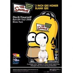 Figur Qee Homer à Customiser Toy2R Geneva Store Switzerland