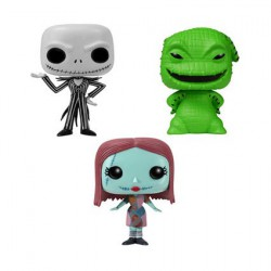 Pop Pocket Tins NBX Jack, Sally Oogie Boogie 3 pack