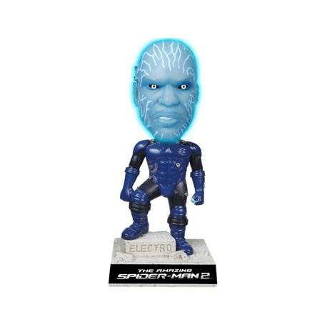 Figur Marvel Spider-Man Electro GID Bobble Head Funko Movies Geneva