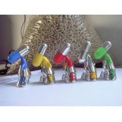Figurine Set de 5 pièces ZEE Silver par PIX Urfabulous Boutique Geneve Suisse