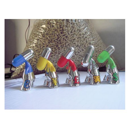 Figur Set of 5 pieces Zee Silver by PIX Urfabulous Geneva Store Switzerland