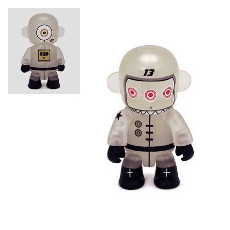 Figur Qee Spacebot 13 Glow in the Dark by Dalek Toy2R Designer Toys Geneva